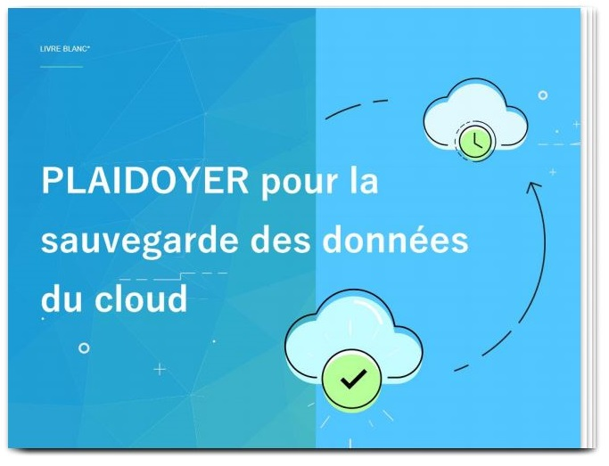 """Livre blanc QUIETIC """"Plaidoyer pour la sauvegarde des données du cloud"""""""
