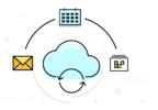 Visuel les données sur cloud en entreprise