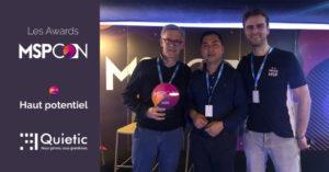 Récompense MSPCon 2020